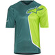 Alpinestars Sierra Bike Jersey Shortsleeve Men green/teal